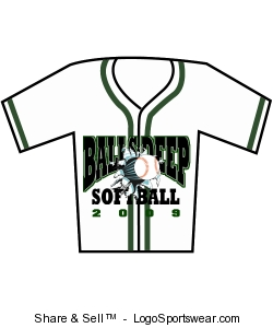 Adult 6-Button Baseball Jerseys with Sewn-On Braid Design Zoom